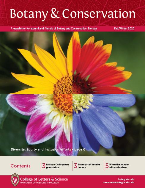Botany/BAC Newsletter 2020 cover image